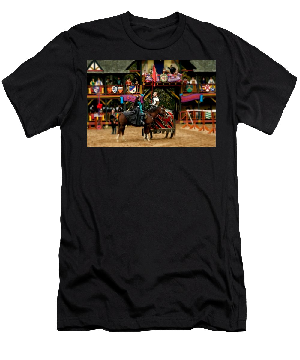 Fine Art Men's T-Shirt (Athletic Fit) featuring the photograph Rules Of Engagement by Rodney Lee Williams