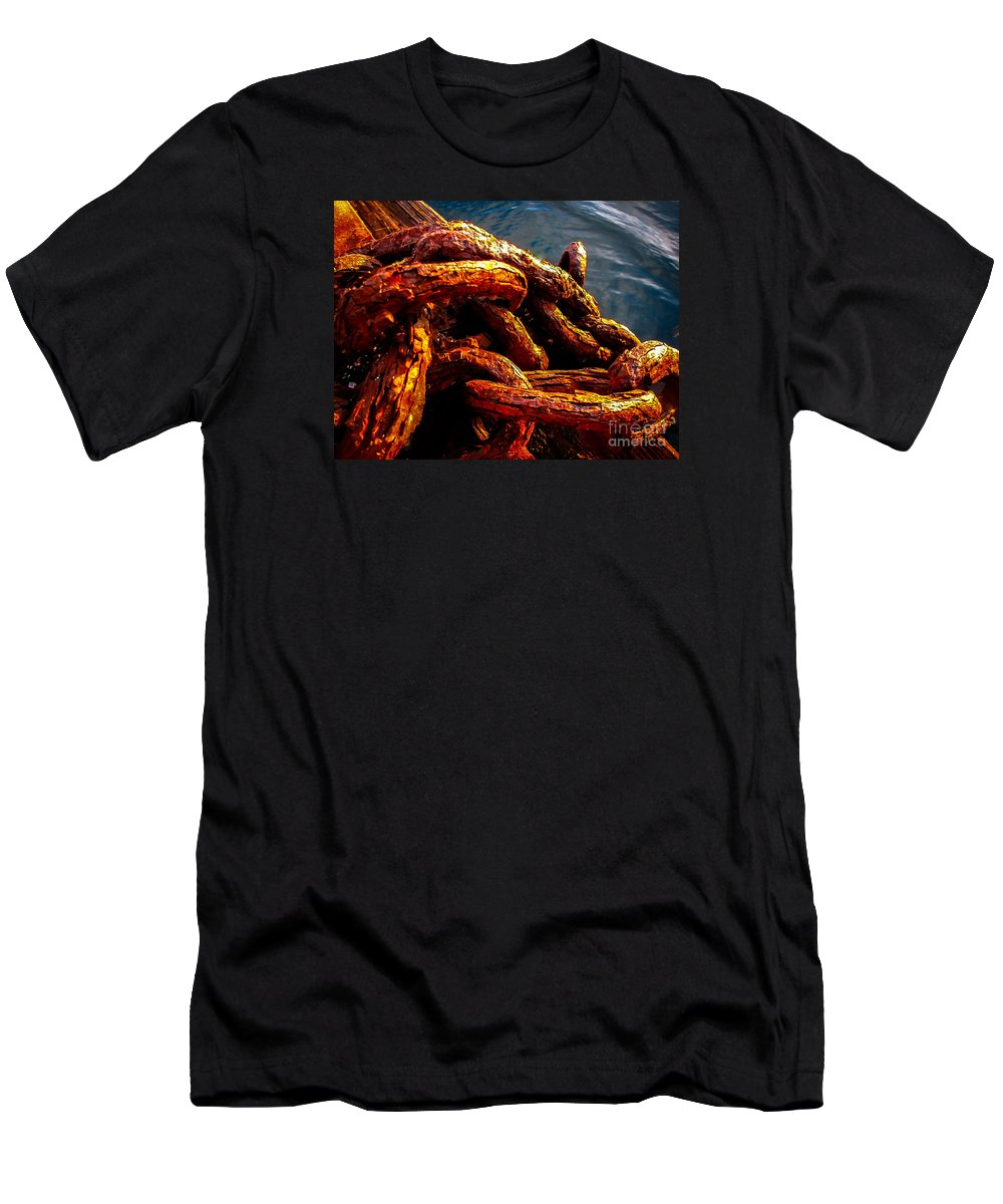 Rust Men's T-Shirt (Athletic Fit) featuring the photograph Rust by Robert Bales