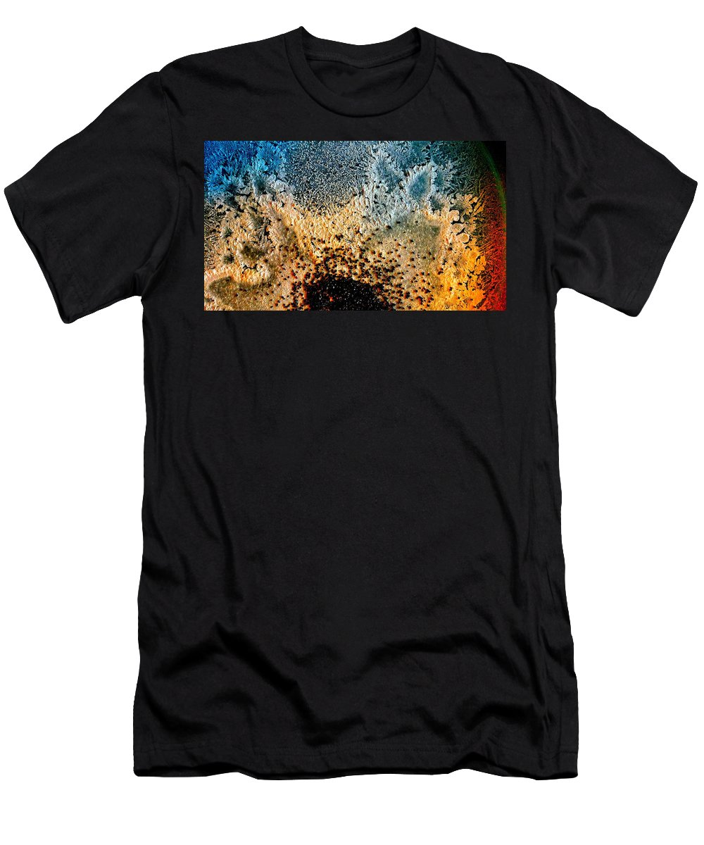 Minimalist Men's T-Shirt (Athletic Fit) featuring the photograph Salt And Sugar by Mark Victors