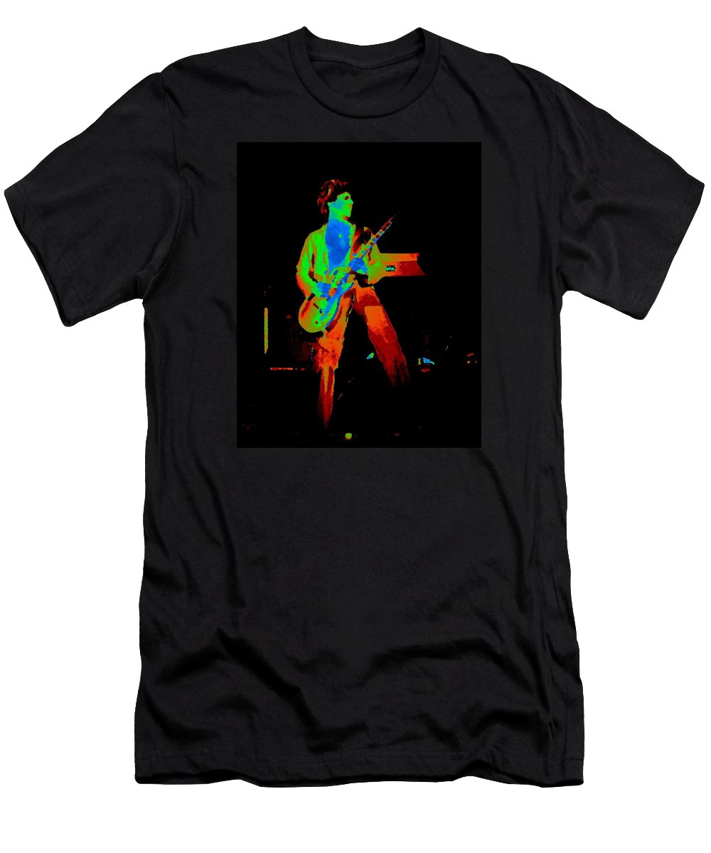 Sammy Hagar Men's T-Shirt (Athletic Fit) featuring the photograph Full Colors 1977 by Ben Upham