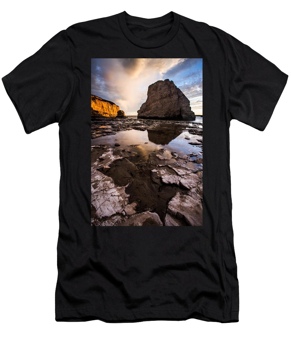 Davenport Men's T-Shirt (Athletic Fit) featuring the photograph Sharkfin Soup by Dayne Reast