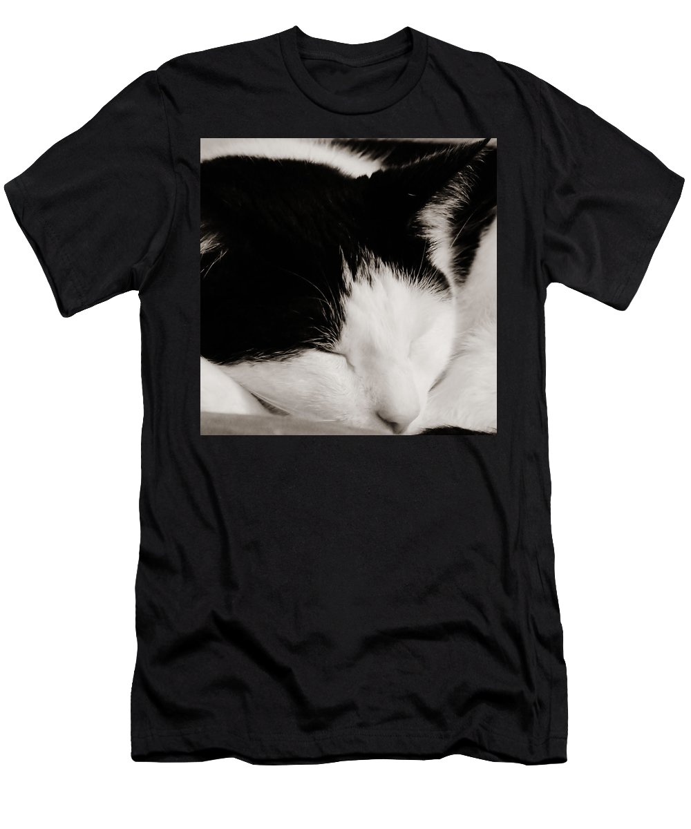 Pet Men's T-Shirt (Athletic Fit) featuring the photograph Sharp And Sweet by Art Dingo