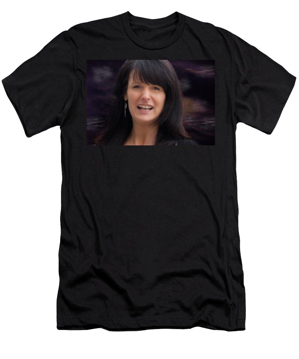 Women Men's T-Shirt (Athletic Fit) featuring the photograph Shauna by John Herzog