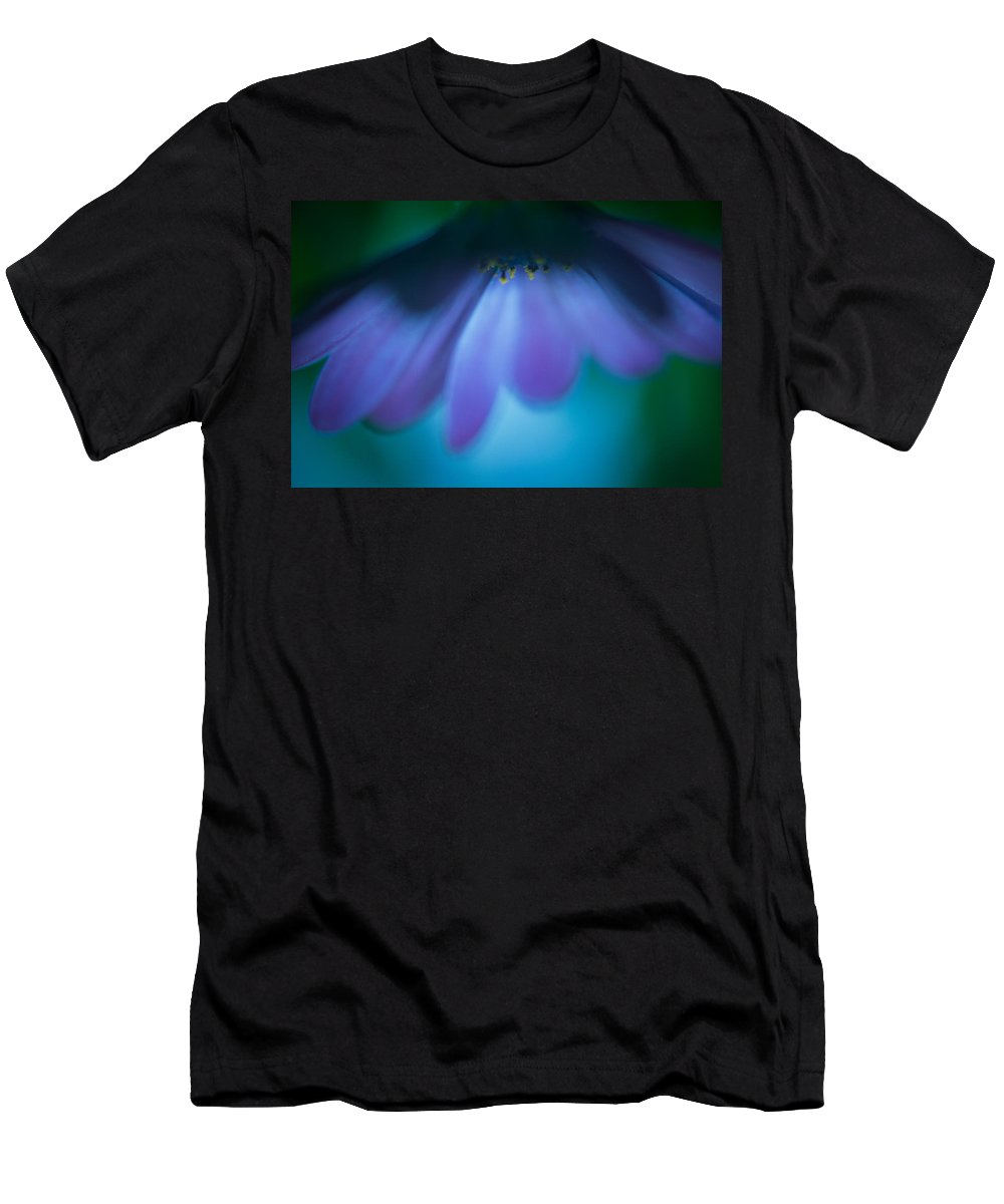 Flower Men's T-Shirt (Athletic Fit) featuring the photograph Shine Down by Shane Holsclaw