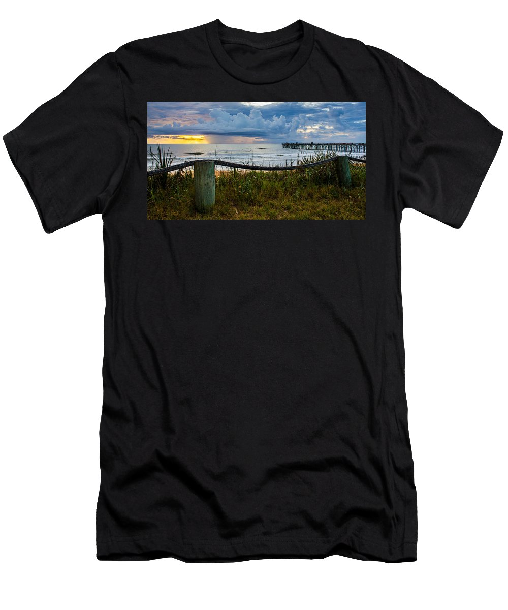 Men's T-Shirt (Athletic Fit) featuring the photograph Simple Flager by Tyson Kinnison