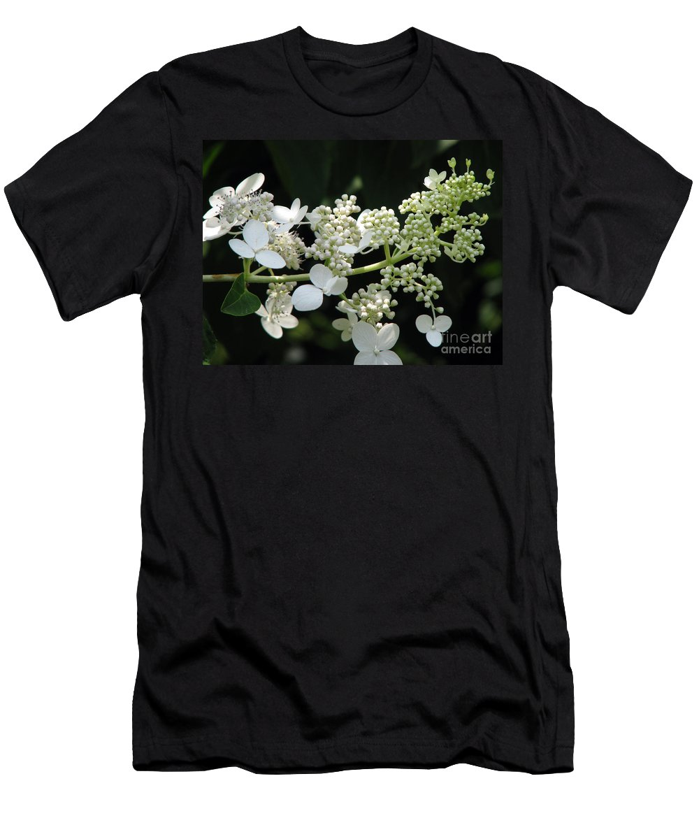 Hydrangea Men's T-Shirt (Athletic Fit) featuring the photograph Simply by Amanda Barcon