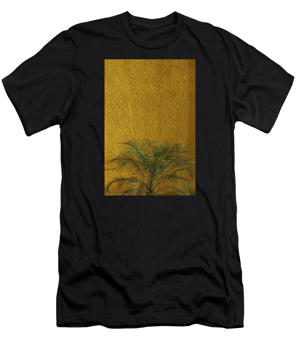 Abstract Men's T-Shirt (Athletic Fit) featuring the photograph Skc 1243 Colour And Texture by Sunil Kapadia