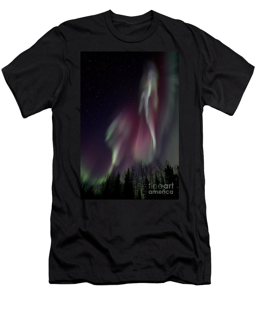 Colourful T-Shirt featuring the photograph Sky Dancer by Priska Wettstein