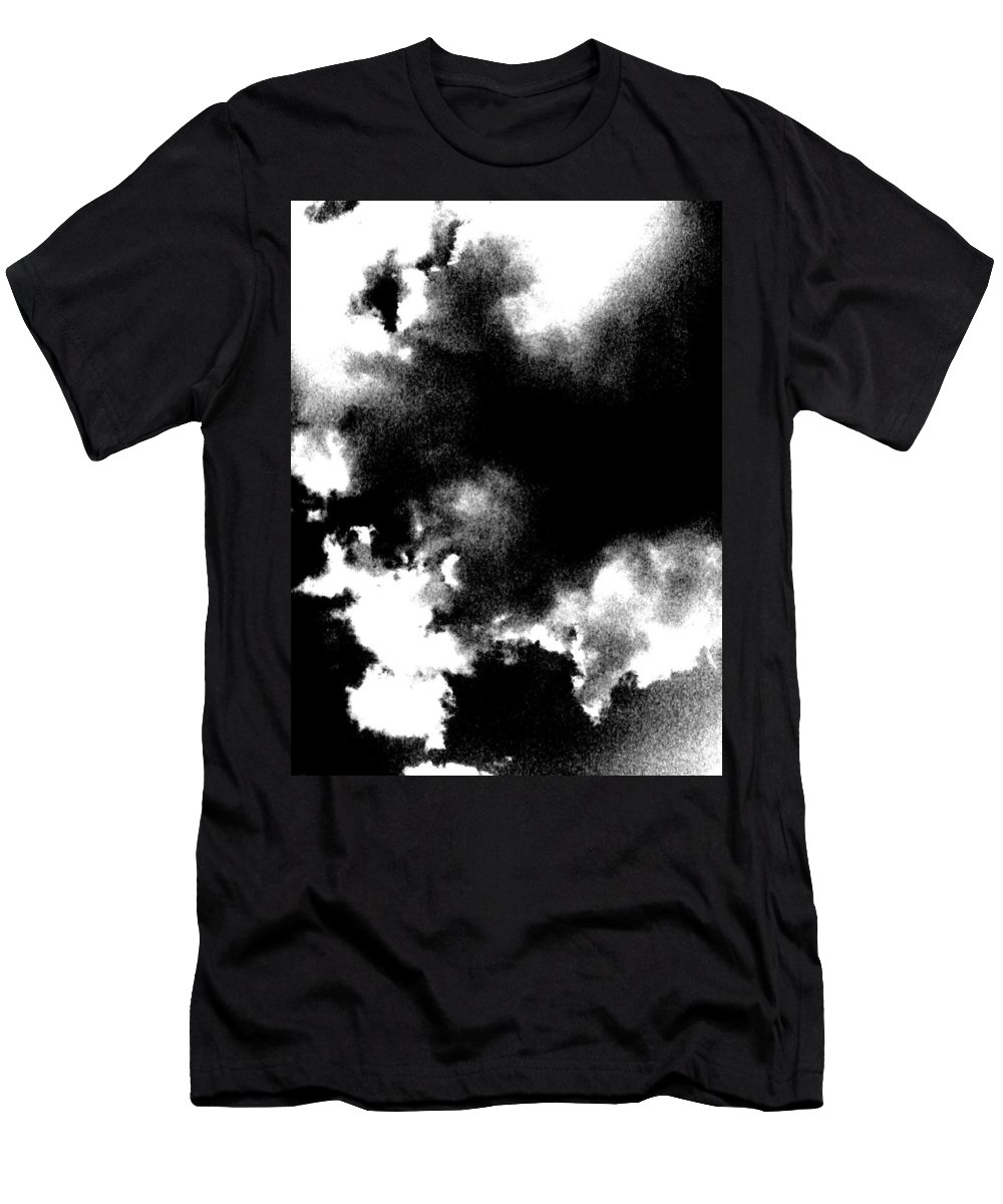 Sky Men's T-Shirt (Athletic Fit) featuring the photograph Sky Explosion by Gina Bonelli