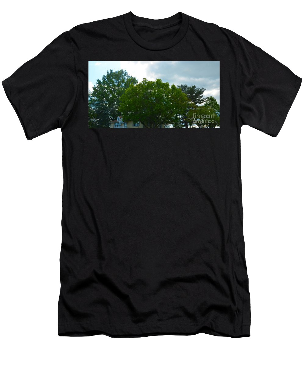 Men's T-Shirt (Athletic Fit) featuring the photograph Skyward by April Simmons