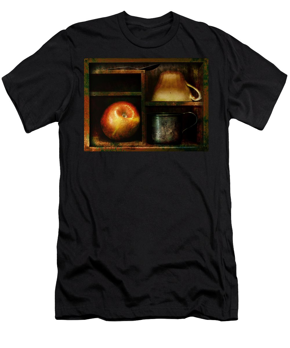 Still Life Men's T-Shirt (Athletic Fit) featuring the photograph Small Places by John Anderson
