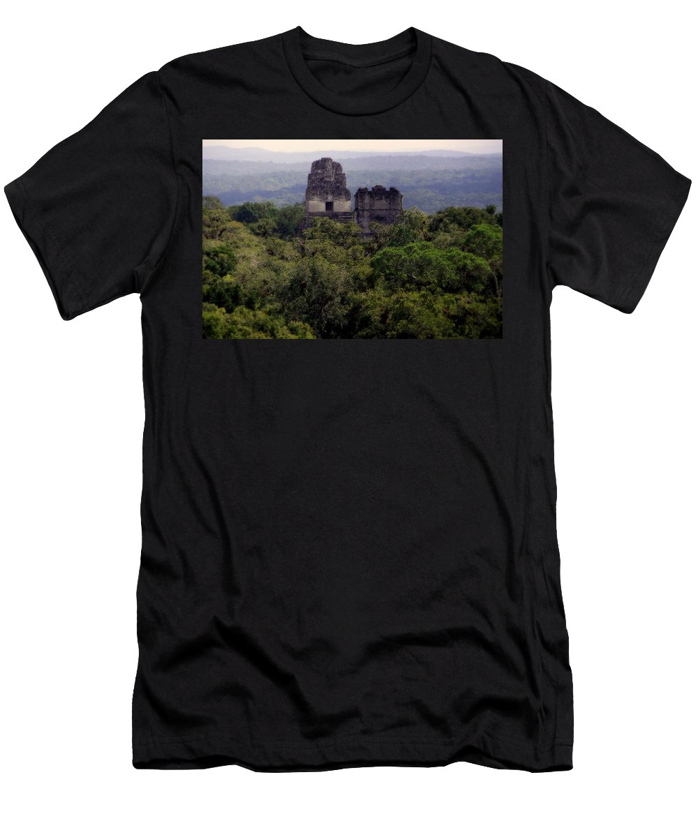 Tikal Men's T-Shirt (Athletic Fit) featuring the photograph So Long Ago by Karen Wiles