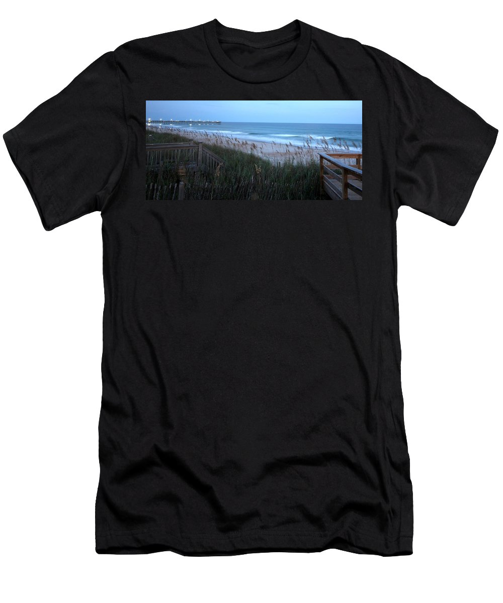 Men's T-Shirt (Athletic Fit) featuring the photograph Soft Ocean by Rand Wall