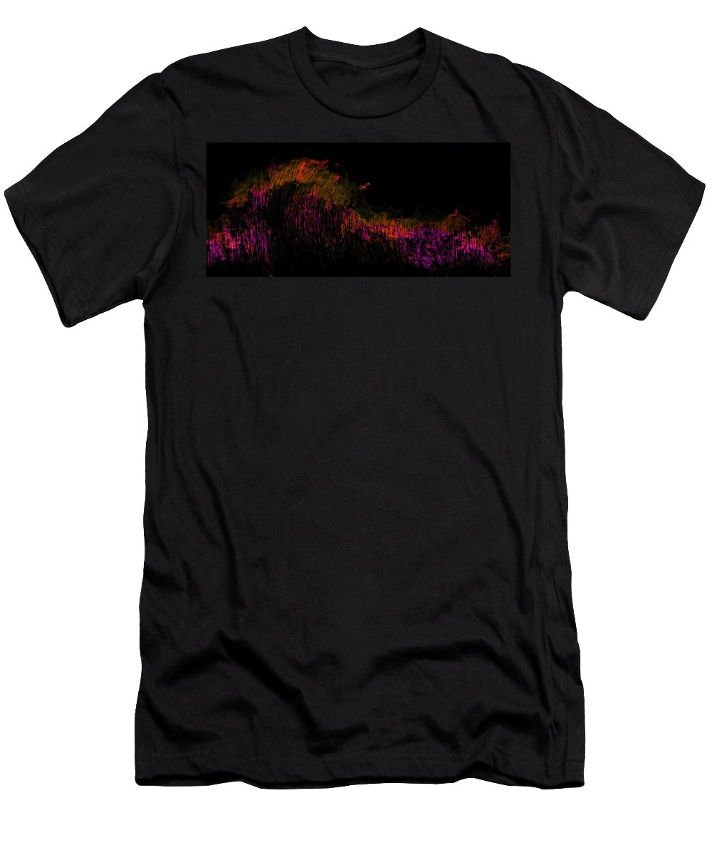 Solar Men's T-Shirt (Athletic Fit) featuring the painting Solar Flare by Christopher Gaston