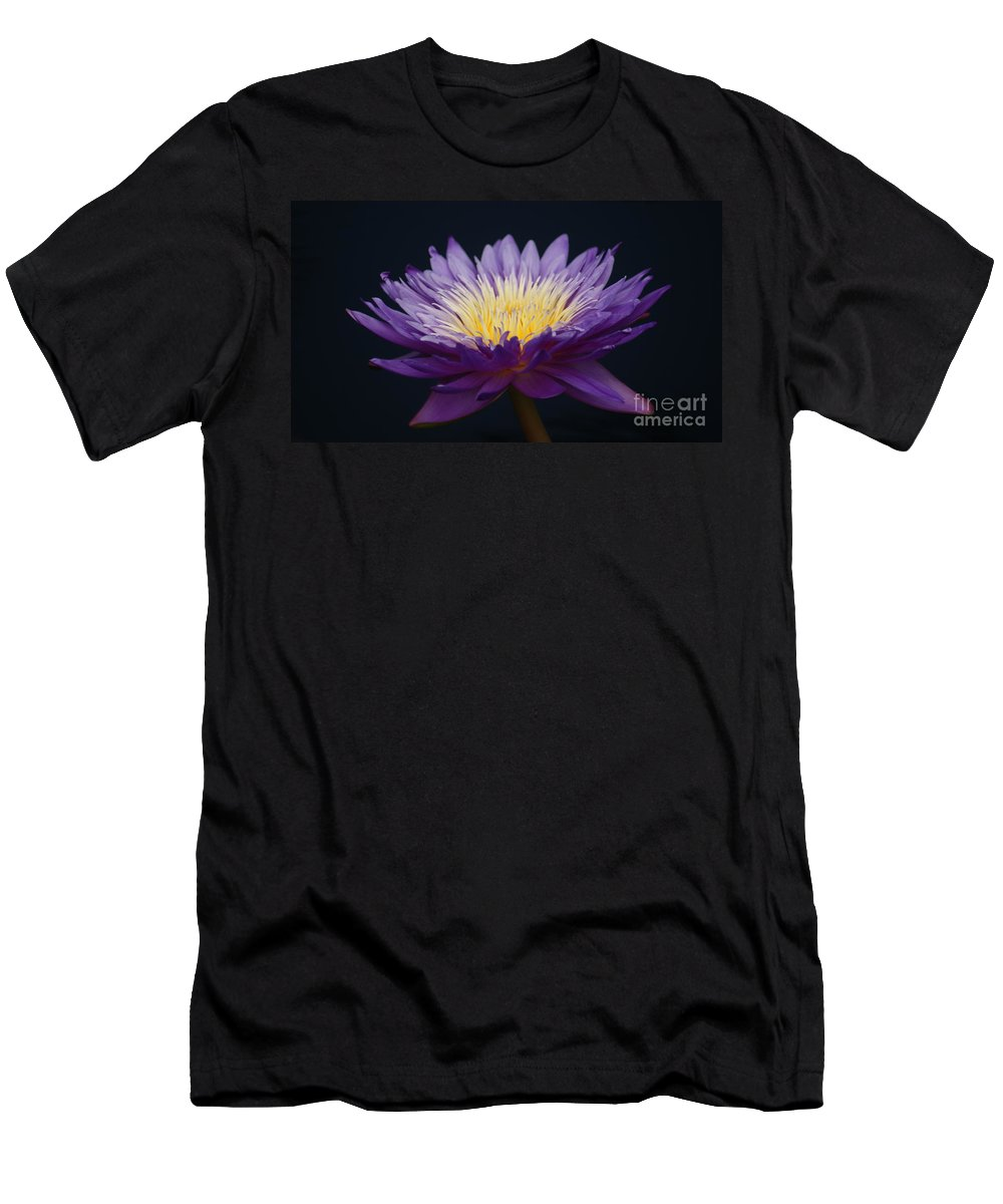 Waterlily Men's T-Shirt (Athletic Fit) featuring the photograph Solita Side...  # by Rob Luzier