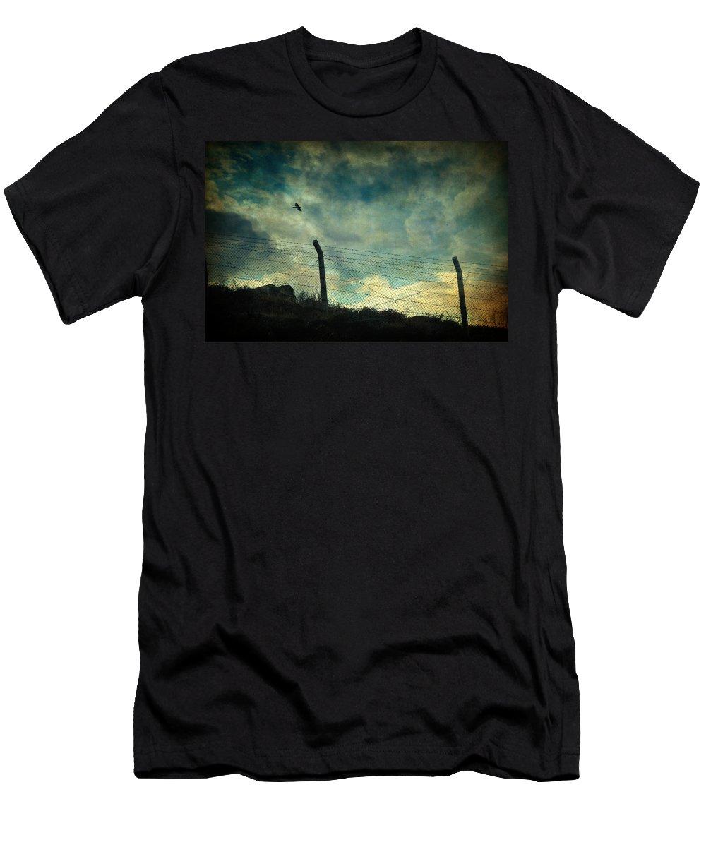 Landscape Men's T-Shirt (Athletic Fit) featuring the photograph Southwester by Zapista Zapista