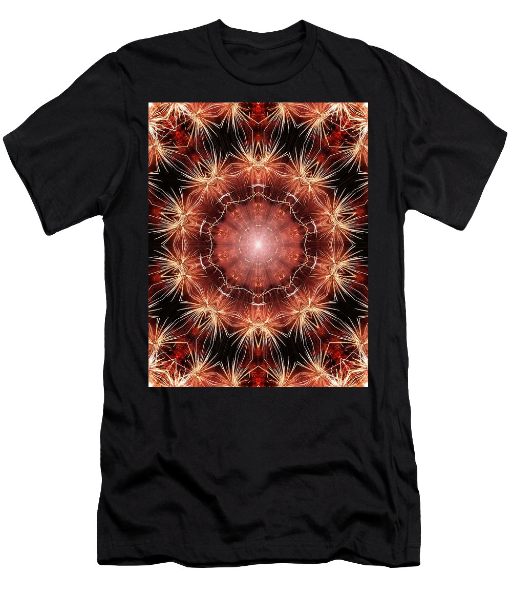 Spark Men's T-Shirt (Athletic Fit) featuring the photograph Sparking Dreams by Kristin Elmquist