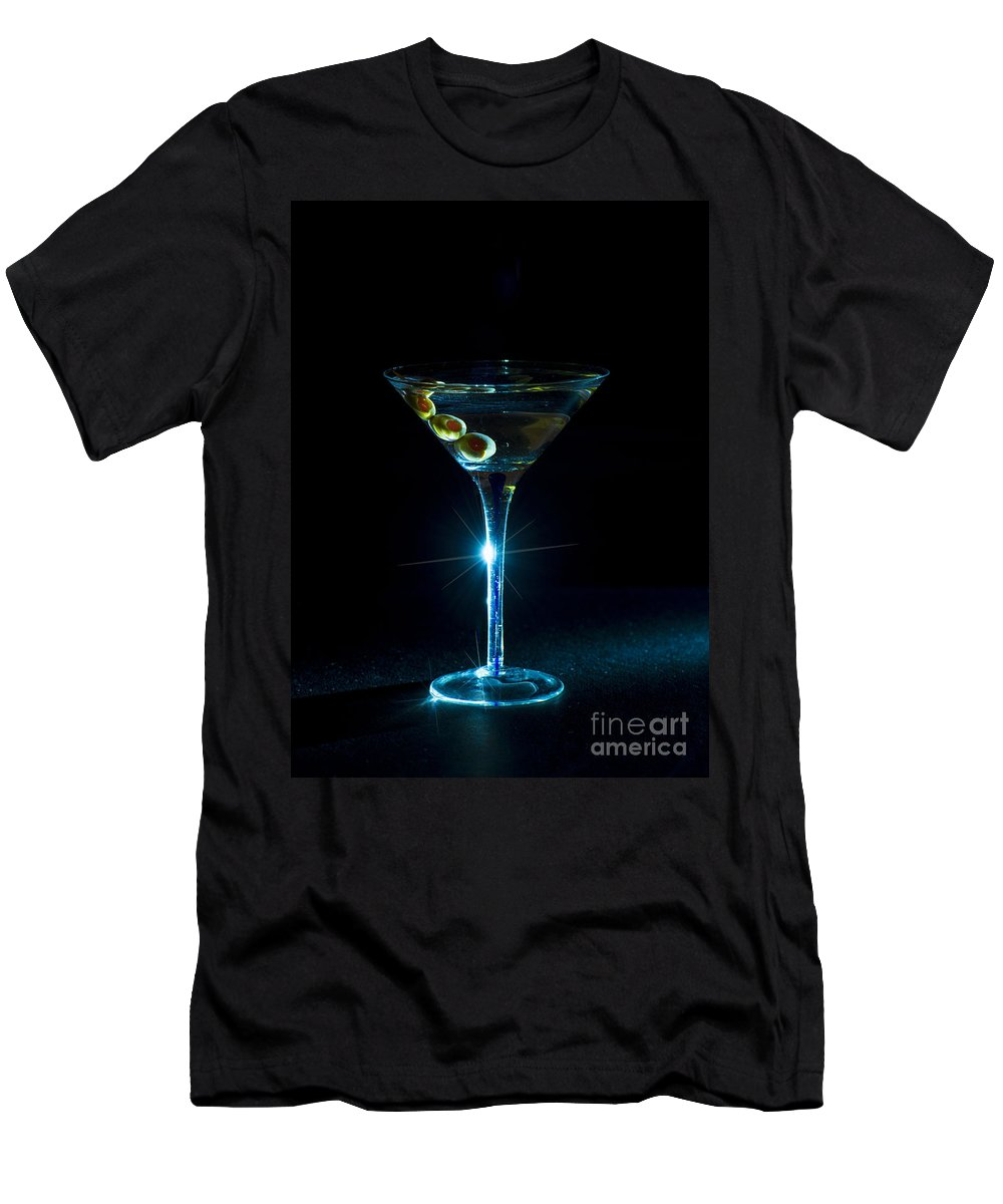 Glass Men's T-Shirt (Athletic Fit) featuring the photograph Sparkle by Bruce Bain