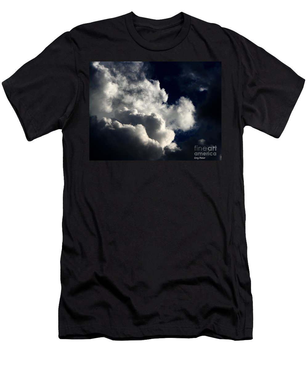 Art For The Wall...patzer Photography Men's T-Shirt (Athletic Fit) featuring the photograph Spiritual by Greg Patzer