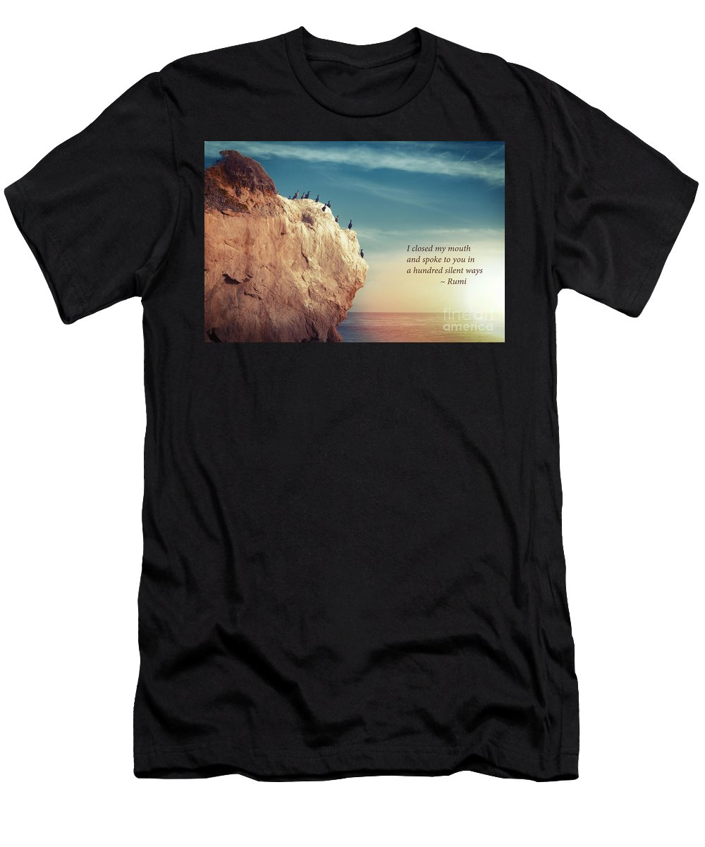 Inspirational Men's T-Shirt (Athletic Fit) featuring the photograph Spoke To You by Stella Levi