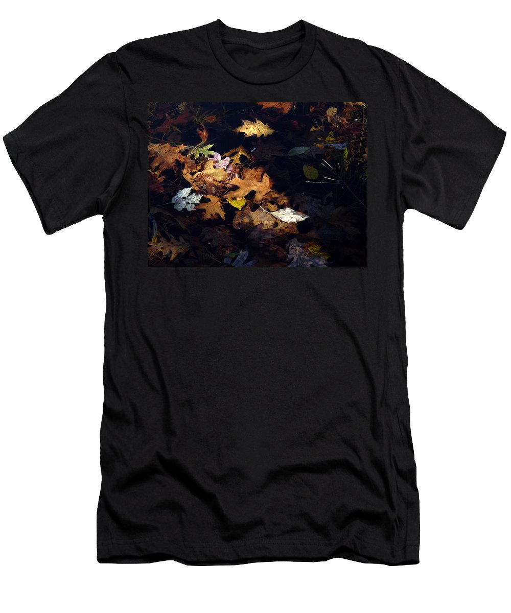 Nature Men's T-Shirt (Athletic Fit) featuring the photograph Spot Lighting by Marcia Lee Jones