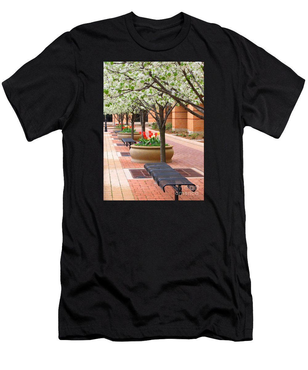 Spring Men's T-Shirt (Athletic Fit) featuring the photograph Spring Fragrance by Ann Horn