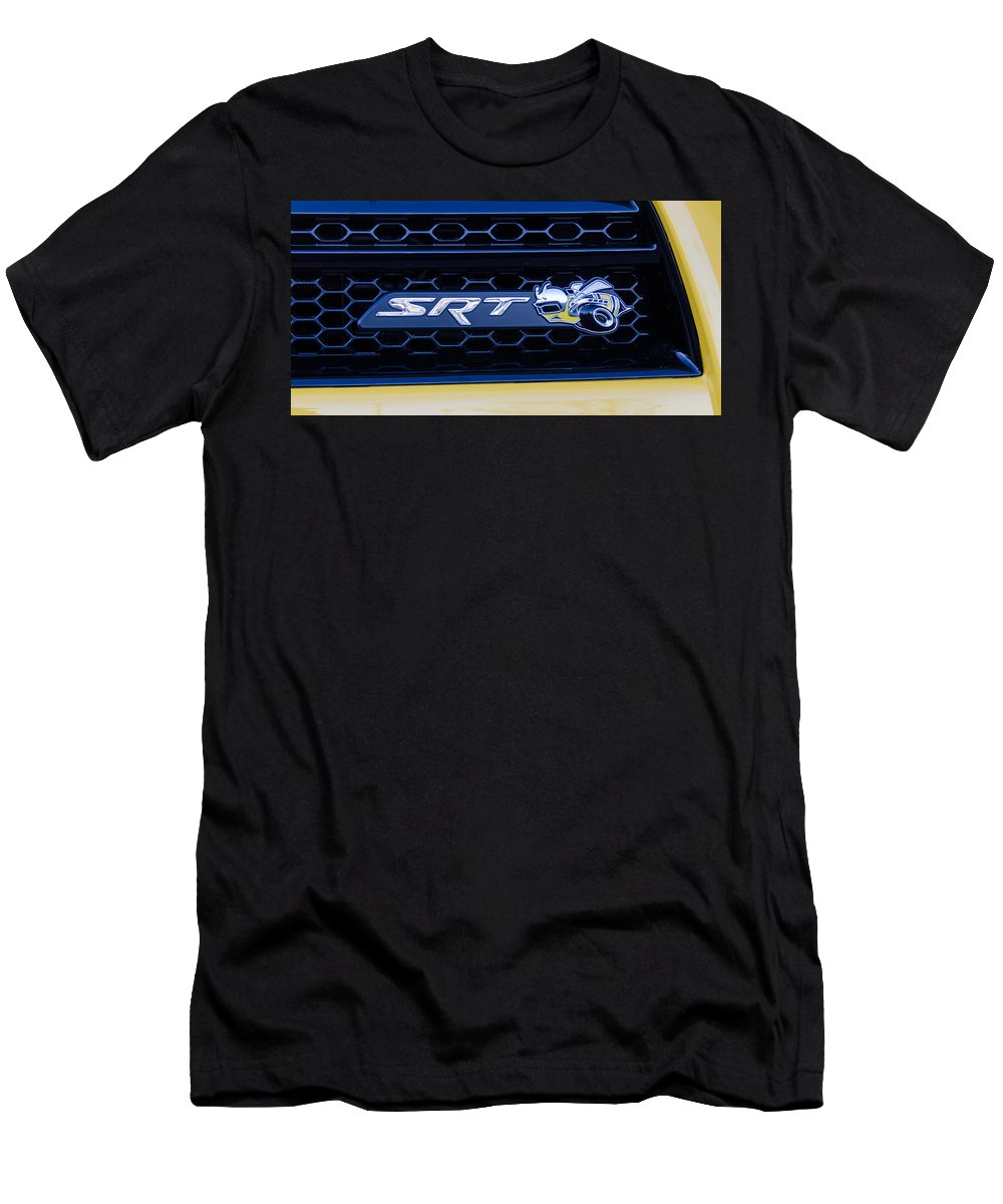 Automobile Men's T-Shirt (Athletic Fit) featuring the photograph Srt Superbee by Guy Whiteley