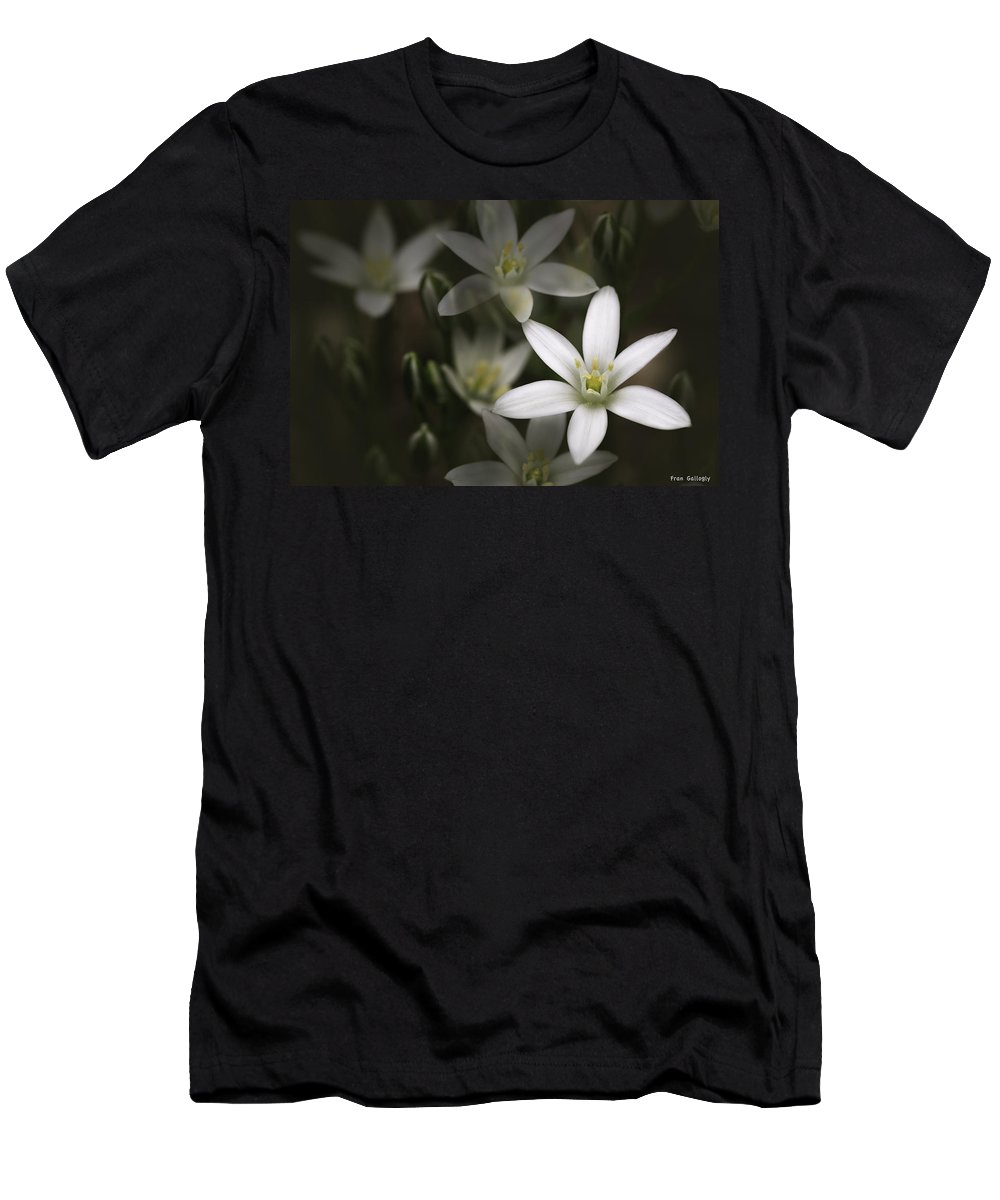 Star Of Bethlehem Men's T-Shirt (Athletic Fit) featuring the photograph Starry Springtime by Fran Gallogly