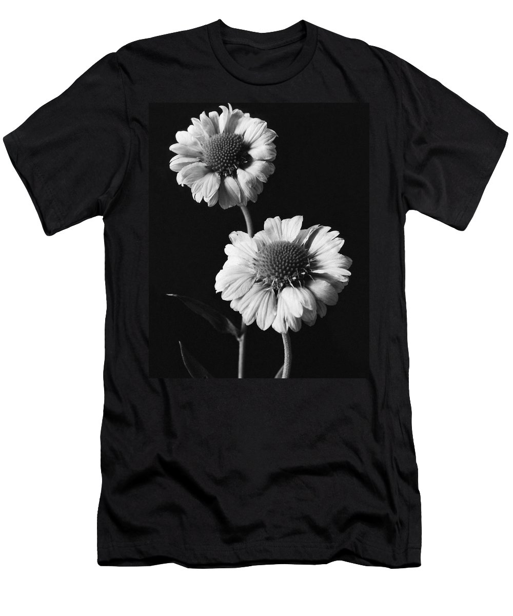 Flowers Men's T-Shirt (Athletic Fit) featuring the photograph Still Life Of Flowers by J. Horace McFarland