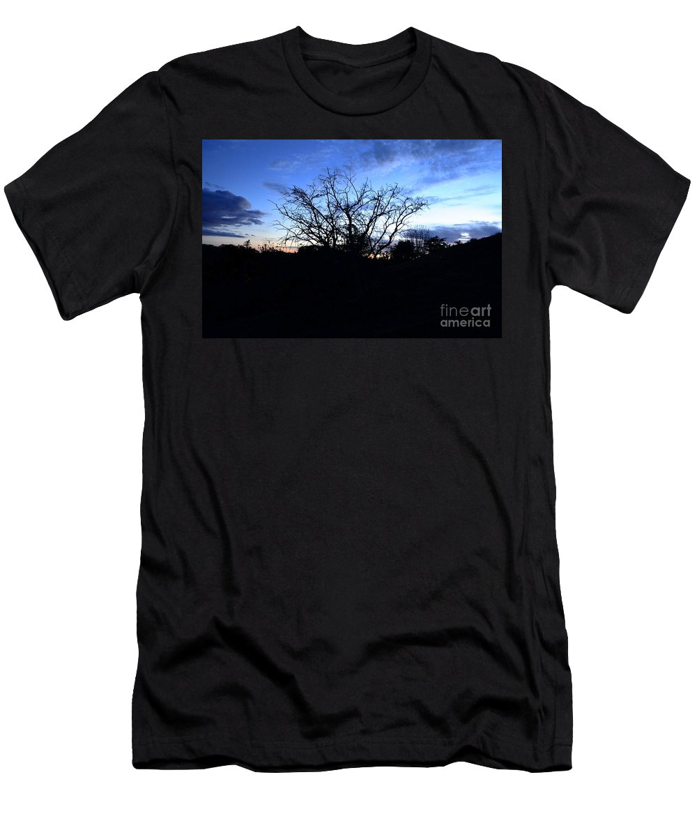 Stormy Men's T-Shirt (Athletic Fit) featuring the photograph Stormy Night by Bridgette Gomes