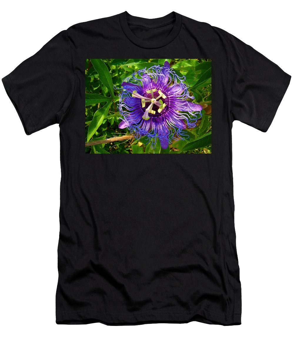 Fine Art Men's T-Shirt (Athletic Fit) featuring the photograph Strange Passion by Rodney Lee Williams