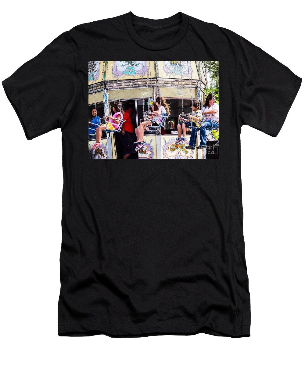 Summer Fair Men's T-Shirt (Athletic Fit) featuring the photograph Summer Fair-8 by David Fabian
