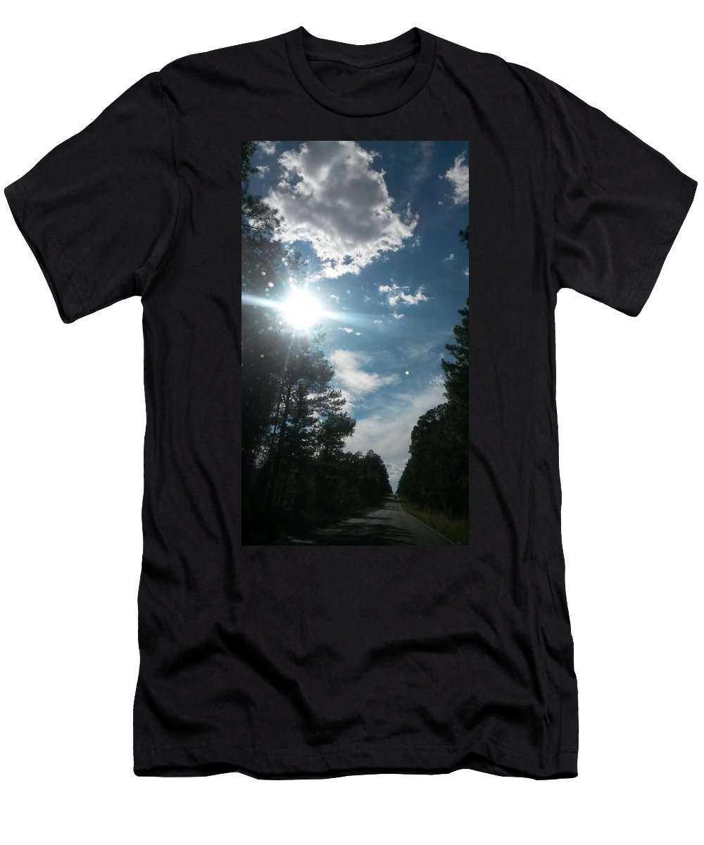 Sun And Country Men's T-Shirt (Athletic Fit) featuring the photograph Sun And Country by Maria Urso