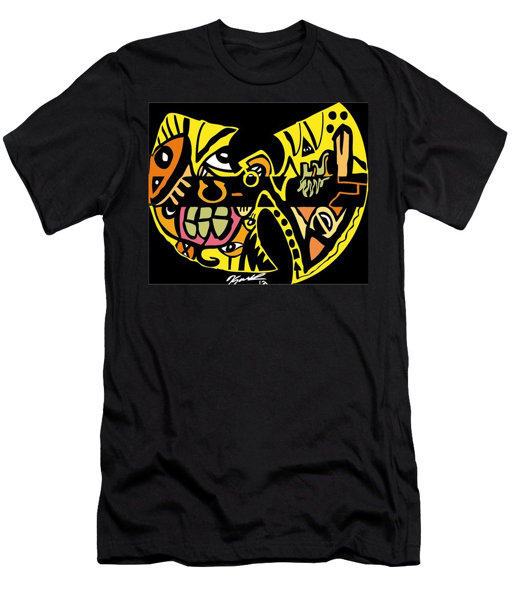 Wutangclan Men's T-Shirt (Athletic Fit) featuring the digital art Suuuu by Kamoni Khem