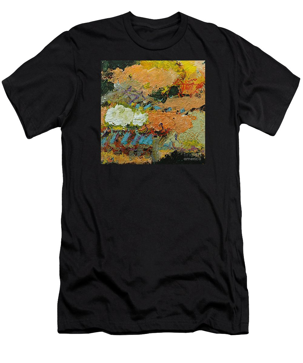 Landscape Men's T-Shirt (Athletic Fit) featuring the painting Sweet And Spicy by Allan P Friedlander