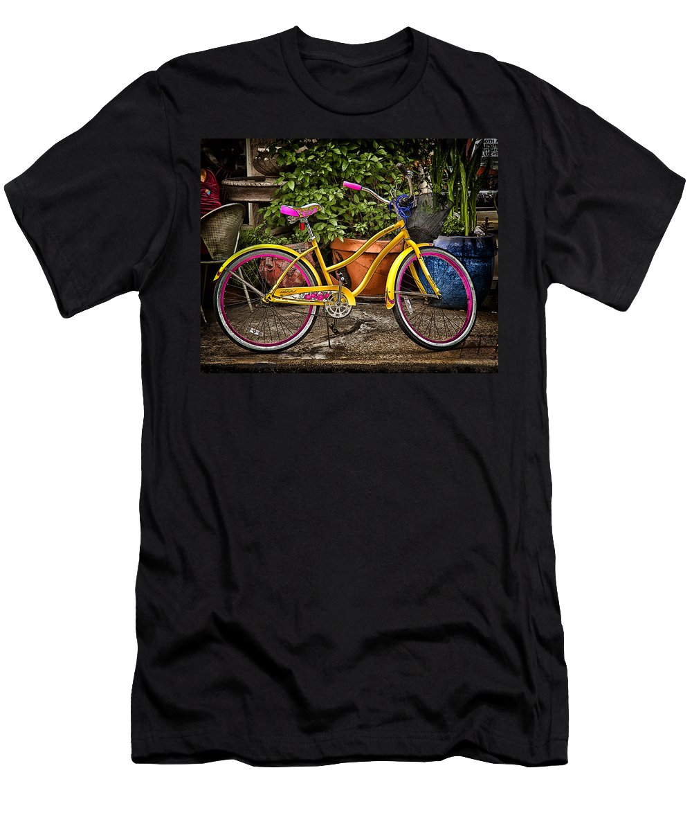 Bike Men's T-Shirt (Athletic Fit) featuring the photograph Sweet Ride by Debby Richards