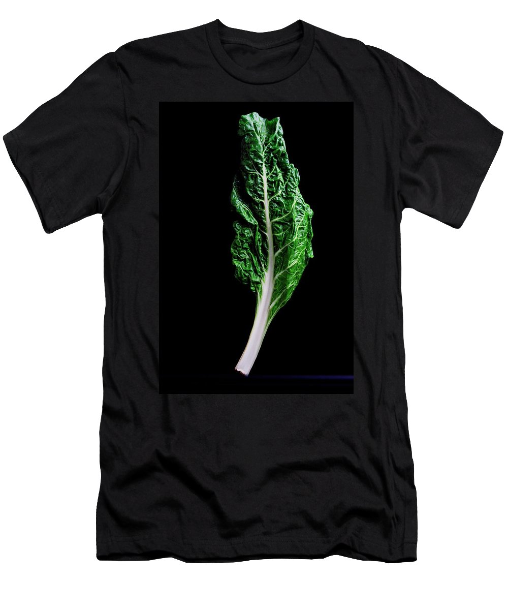 Fruits Men's T-Shirt (Athletic Fit) featuring the photograph Swiss Chard by Romulo Yanes