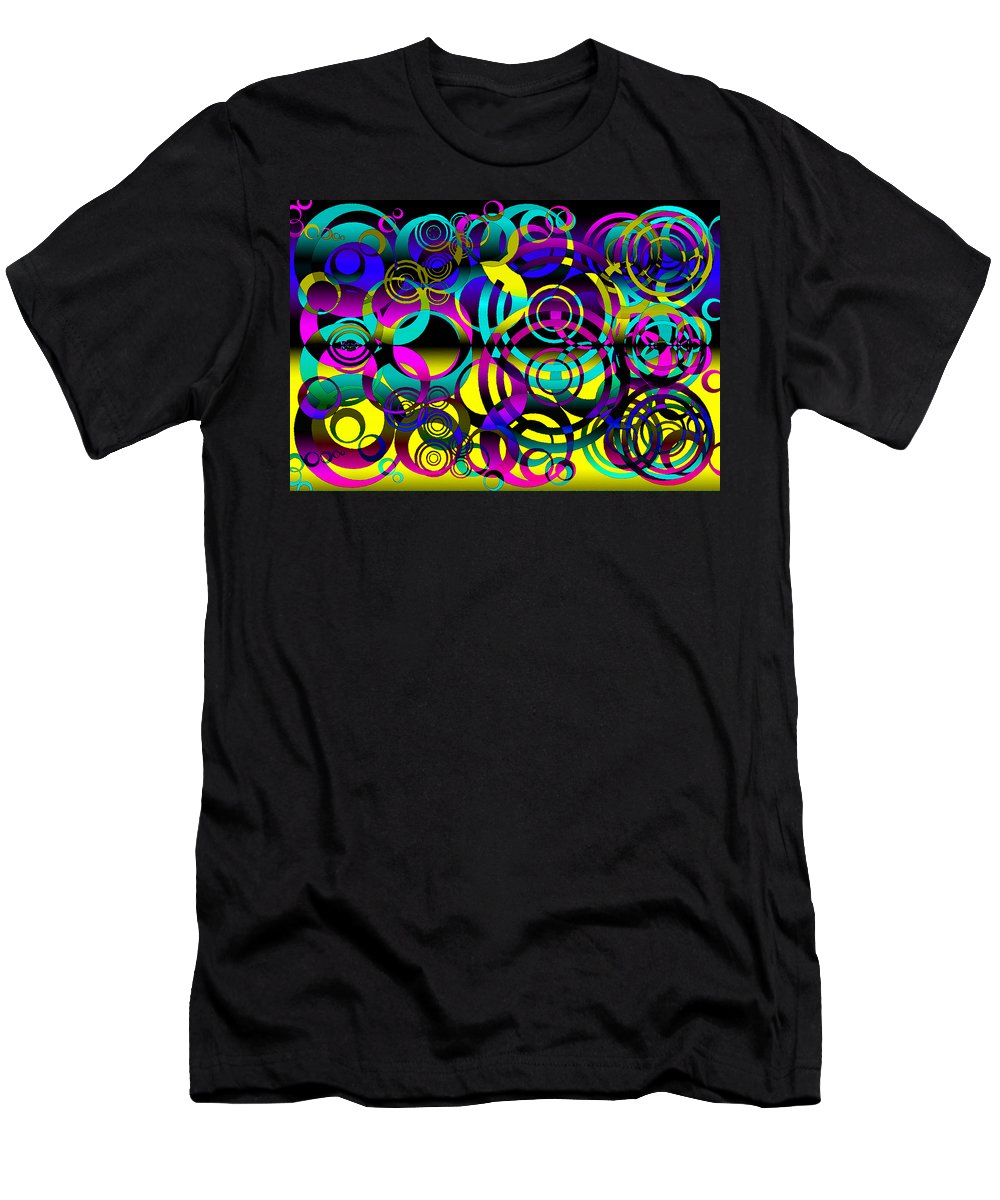 Balance Men's T-Shirt (Athletic Fit) featuring the digital art Synchronicity 2 by Angelina Vick