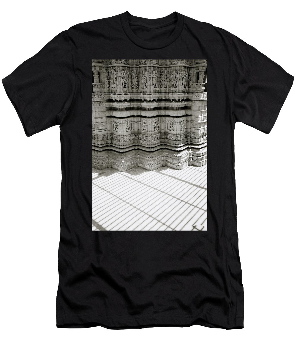 India Men's T-Shirt (Athletic Fit) featuring the photograph Temple Serenity by Shaun Higson