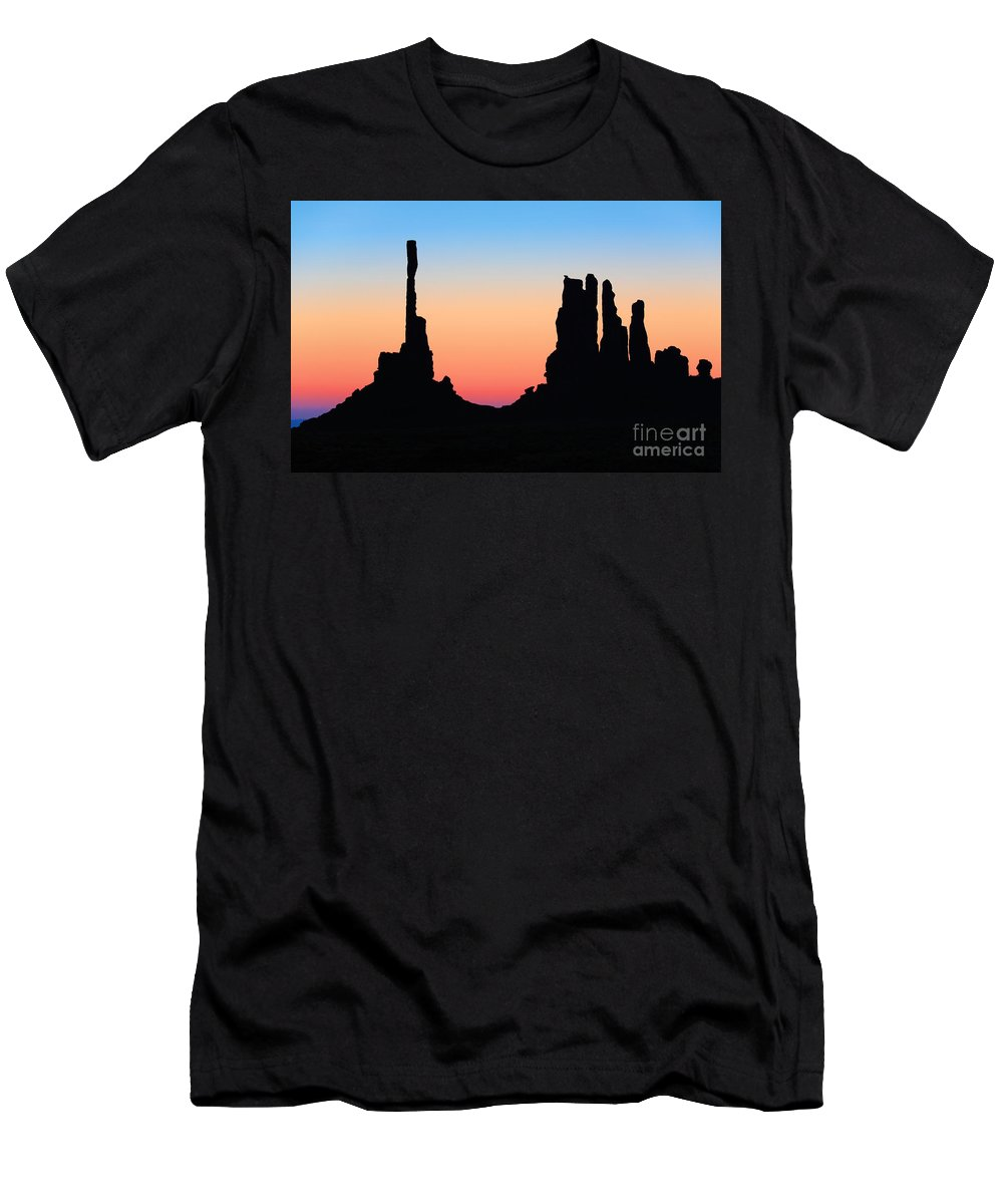 America Men's T-Shirt (Athletic Fit) featuring the photograph Tequila Sunrise by Inge Johnsson