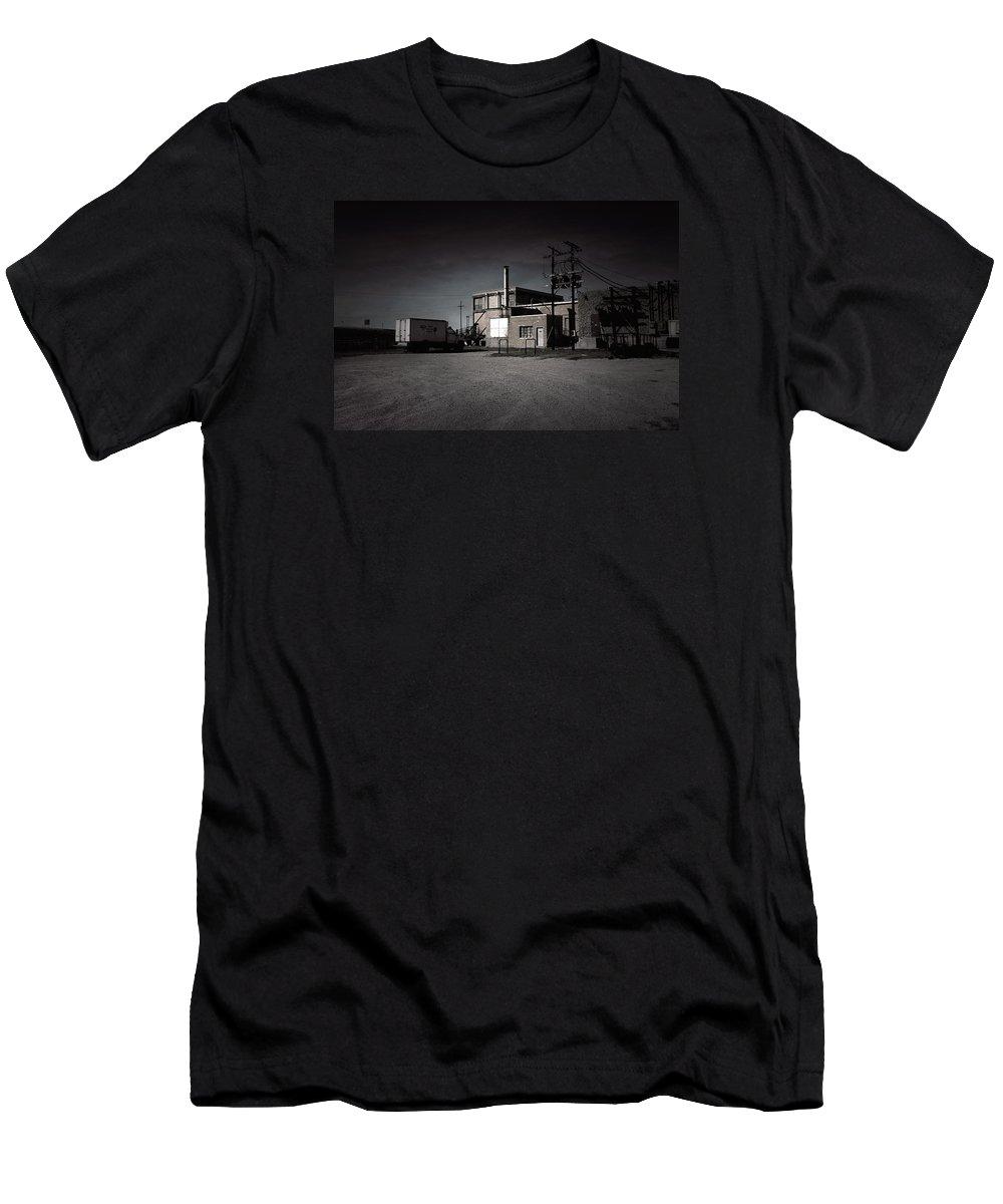 Slaughterhouse Men's T-Shirt (Athletic Fit) featuring the photograph Tcm #6 - Slaughterhouse by Trish Mistric