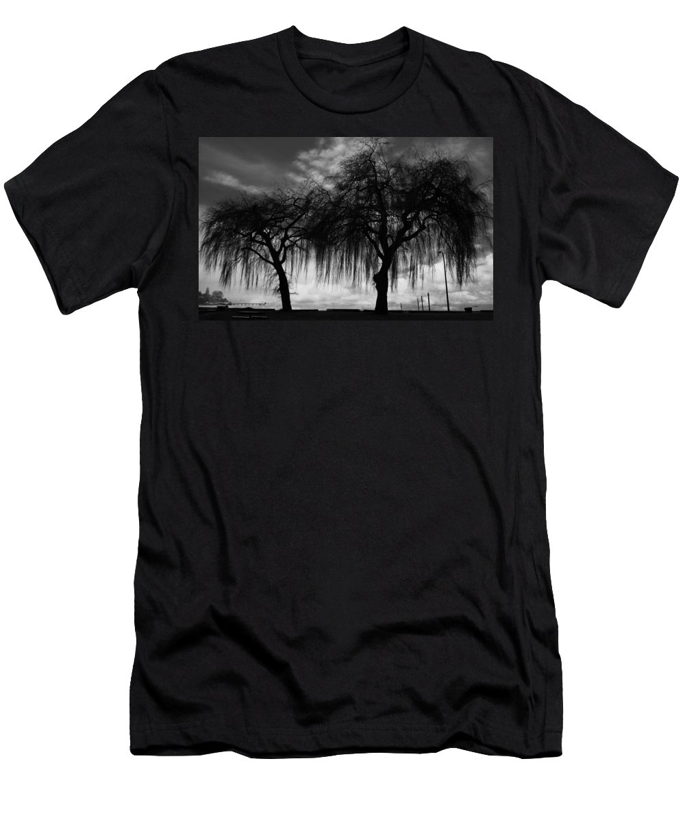 V Men's T-Shirt (Athletic Fit) featuring the photograph The Afternoon by The Artist Project