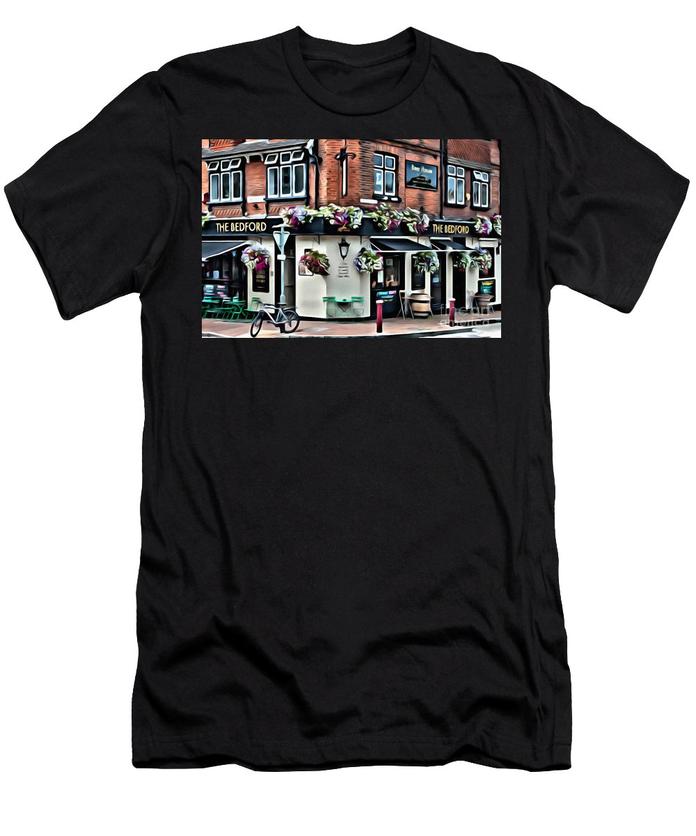 Ale Men's T-Shirt (Athletic Fit) featuring the digital art The Bedford by Paul Stevens