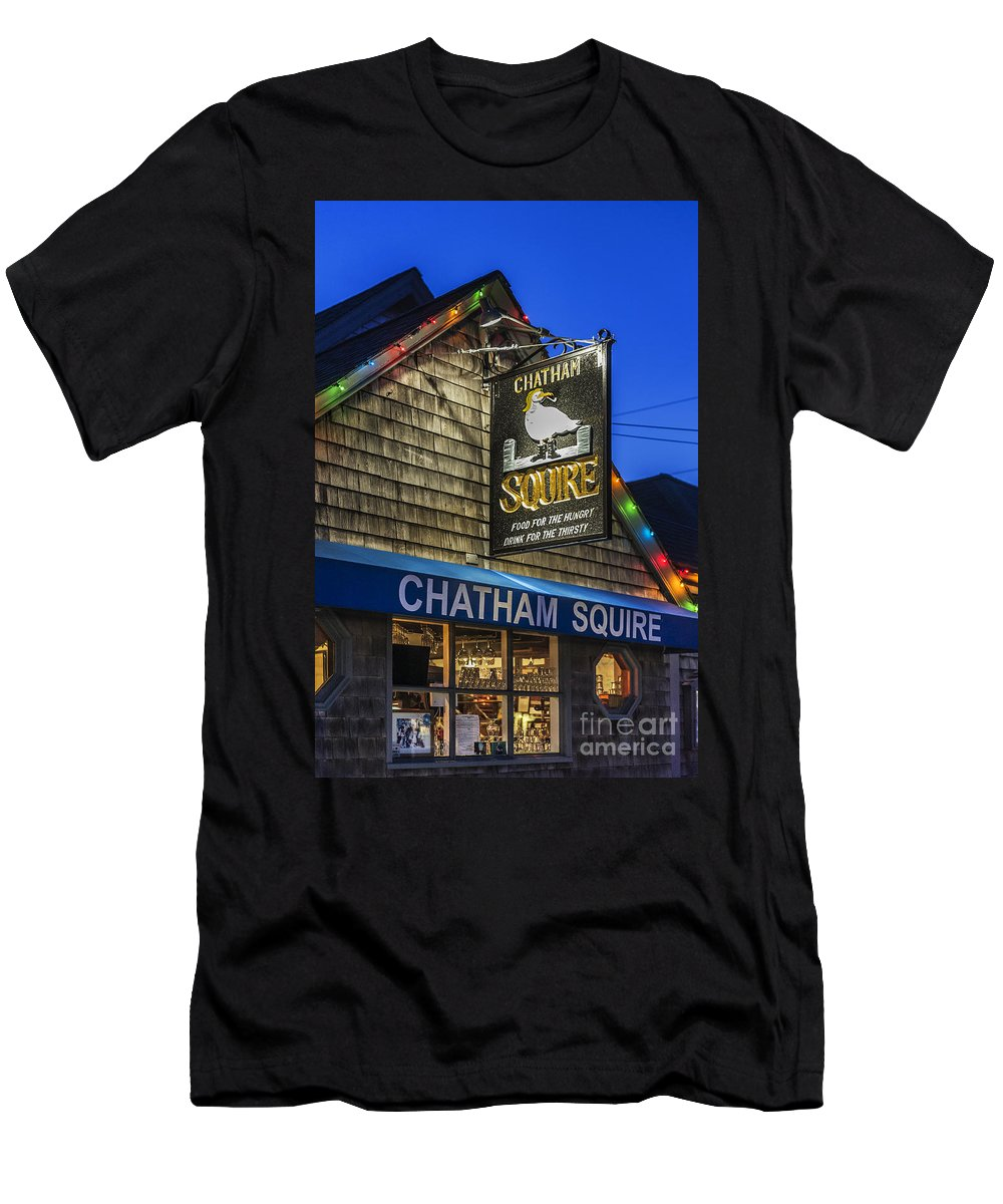 Business Men's T-Shirt (Athletic Fit) featuring the photograph The Chatham Squire by John Greim