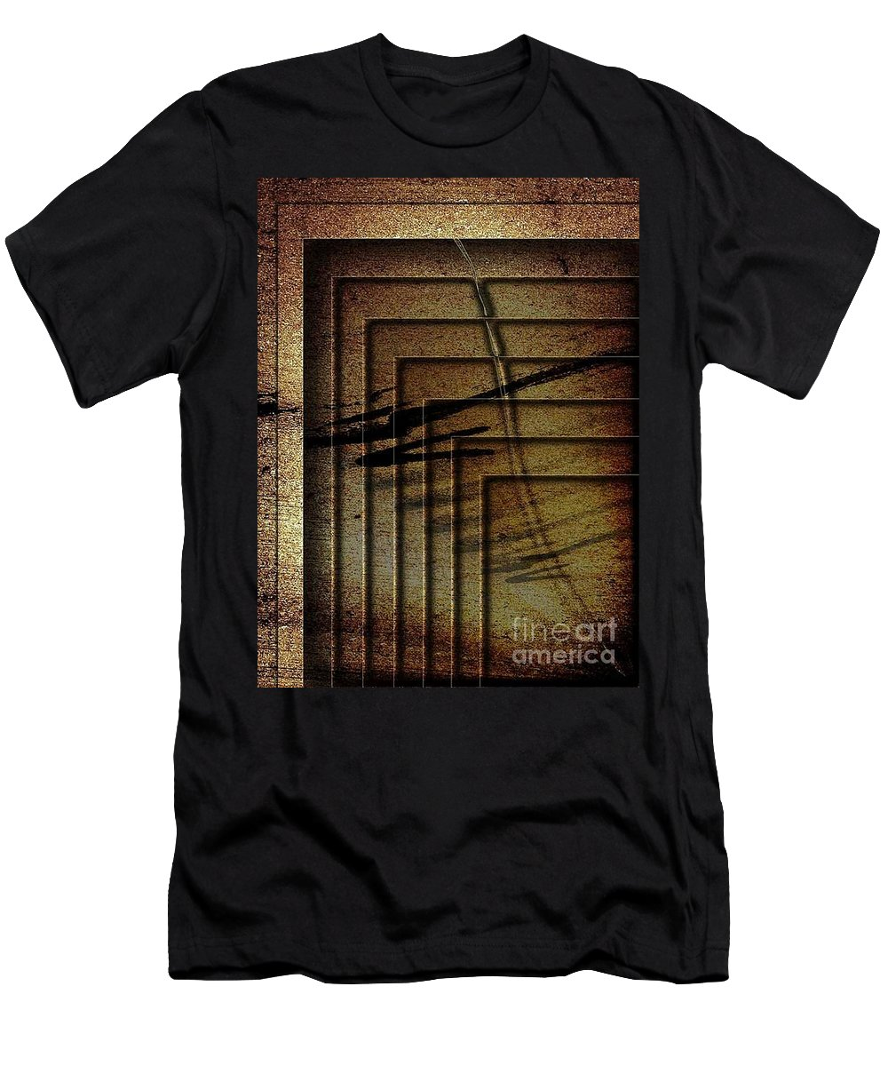 Surreal Men's T-Shirt (Athletic Fit) featuring the digital art The Crowd by Fei A