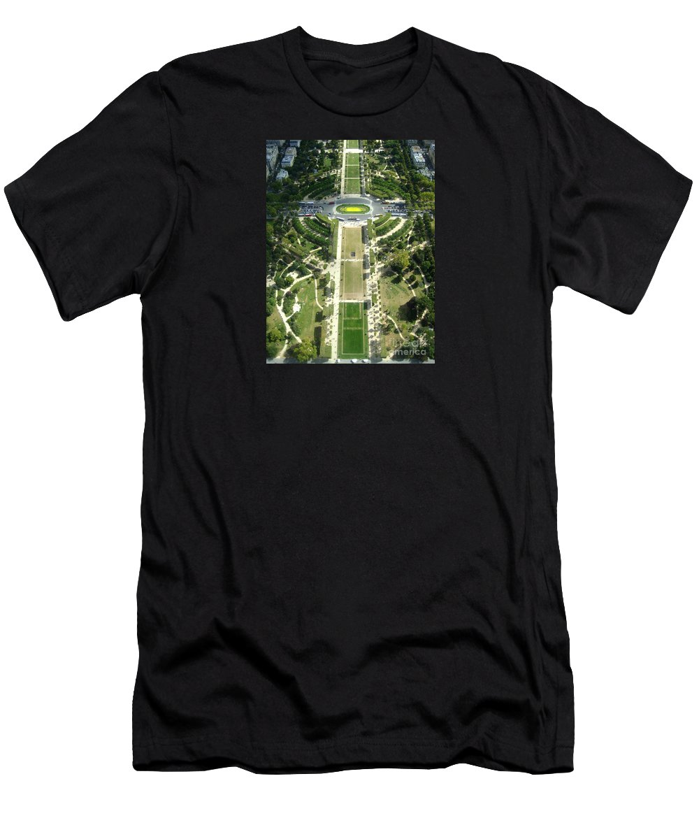 Art Photography By Frederick Luff Men's T-Shirt (Athletic Fit) featuring the photograph The Emerald Cross by Europe Travel Gallery