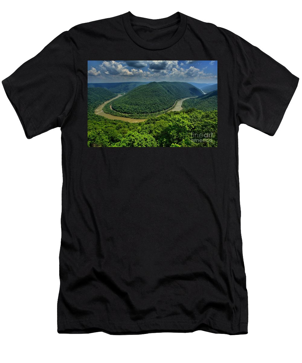 Grand View Men's T-Shirt (Athletic Fit) featuring the photograph The Grand View by Adam Jewell