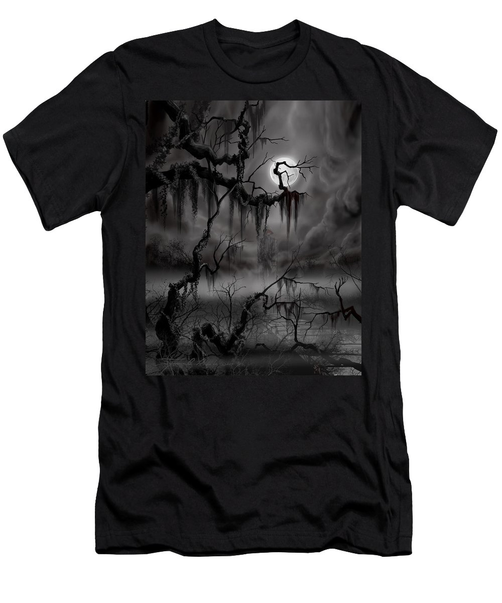Charleston T-Shirt featuring the painting The Hanged Man II by James Christopher Hill