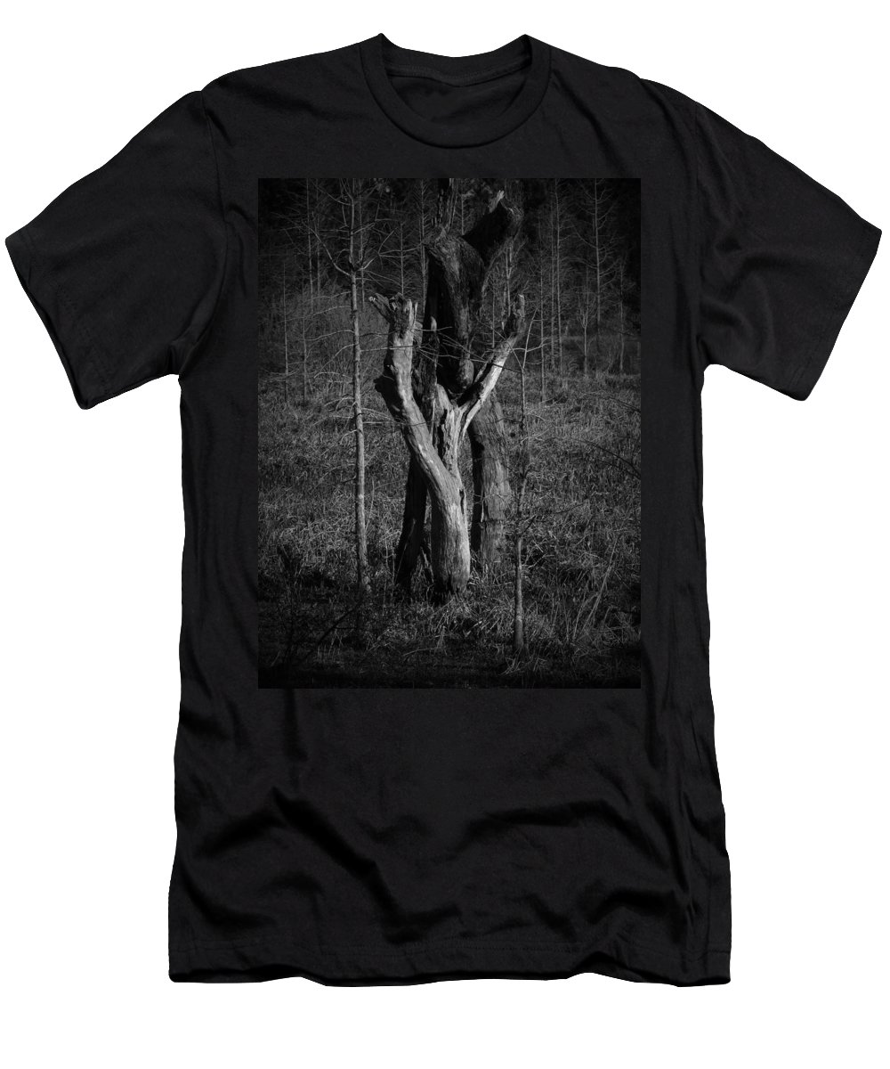 Black Men's T-Shirt (Athletic Fit) featuring the photograph The Lovers Number 2 by Phil Penne
