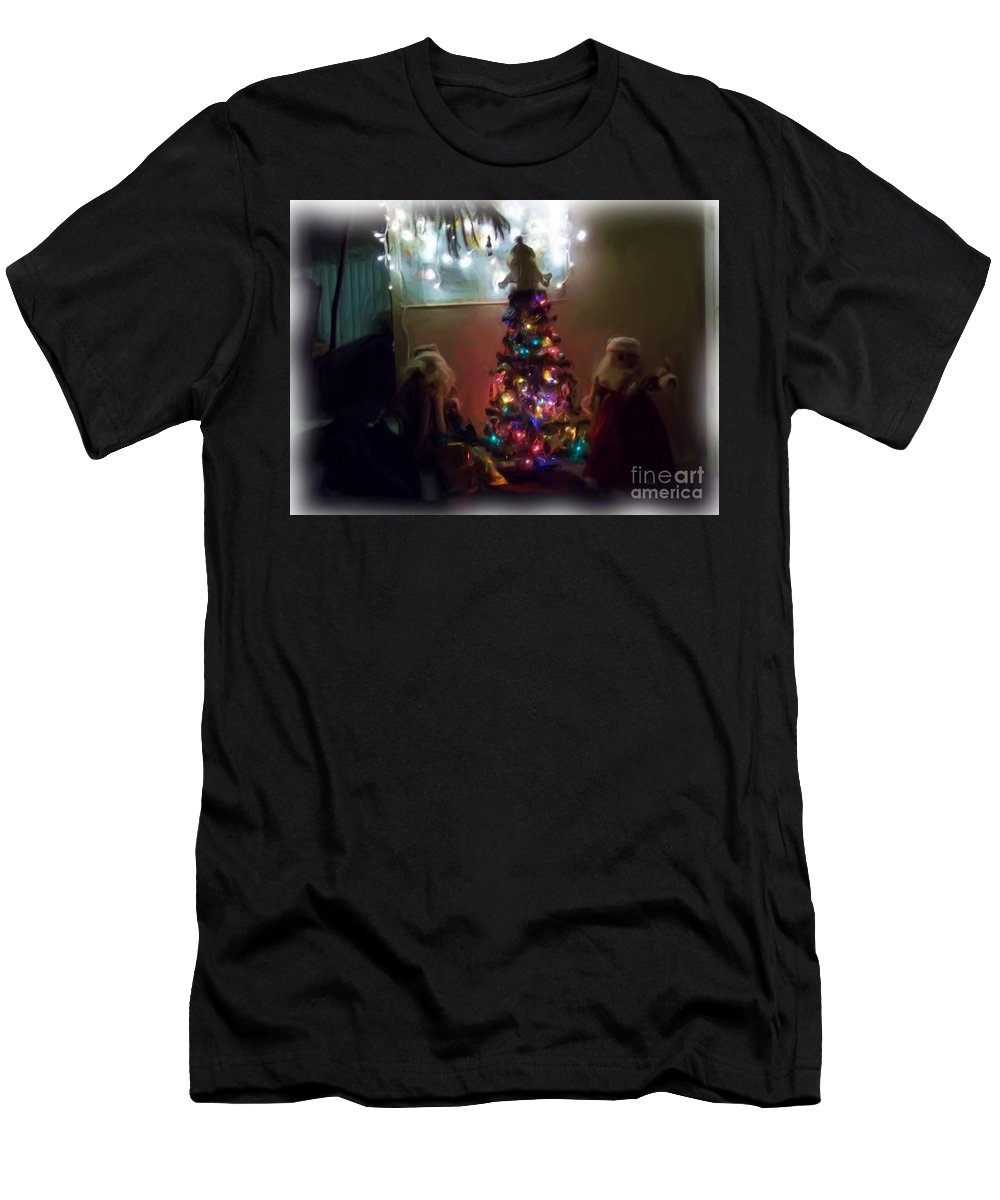 Men's T-Shirt (Athletic Fit) featuring the photograph The Magical Tree by Kelly Awad